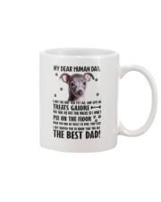 Italian Greyhound Human Dad 0206 Mug front