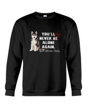 Your Husky Never Be Alone 1306 Crewneck Sweatshirt thumbnail