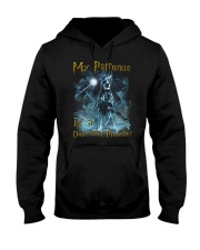 Doberman Pinscher Patronus Hooded Sweatshirt thumbnail