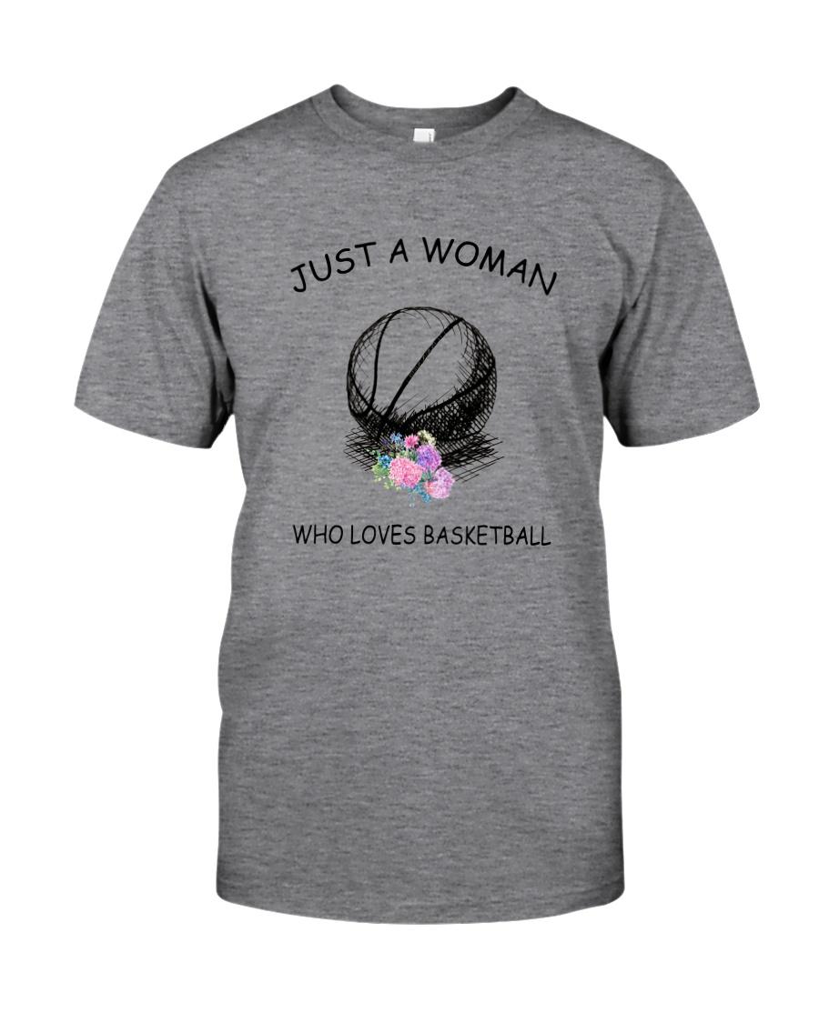 Basketball Love Woman 2104 Classic T-Shirt