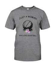 Basketball Love Woman 2104 Classic T-Shirt front
