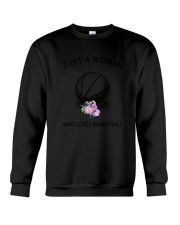 Basketball Love Woman 2104 Crewneck Sweatshirt thumbnail