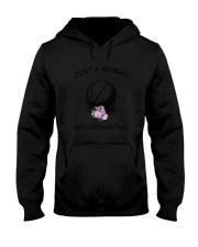 Basketball Love Woman 2104 Hooded Sweatshirt thumbnail