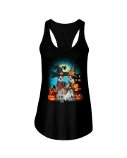 Gaea - Australian Cattle Dog Halloween - 1608 - 24 Ladies Flowy Tank thumbnail