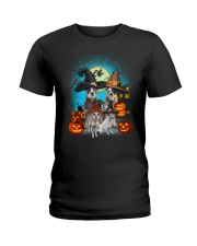 Gaea - Australian Cattle Dog Halloween - 1608 - 24 Ladies T-Shirt thumbnail