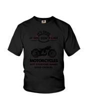 Motorcycles Good Choices 2504 Youth T-Shirt thumbnail