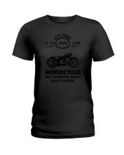 Motorcycles Good Choices 2504 Ladies T-Shirt thumbnail