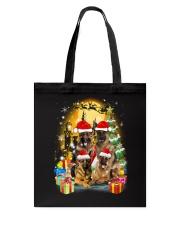 ZEUS - German Shepherd Christmas - 2209 - 75 Tote Bag thumbnail