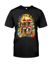 ZEUS - German Shepherd Christmas - 2209 - 75 Classic T-Shirt thumbnail