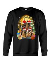 ZEUS - German Shepherd Christmas - 2209 - 75 Crewneck Sweatshirt thumbnail
