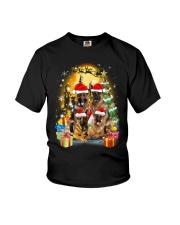ZEUS - German Shepherd Christmas - 2209 - 75 Youth T-Shirt thumbnail
