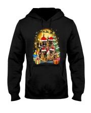 ZEUS - German Shepherd Christmas - 2209 - 75 Hooded Sweatshirt front