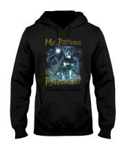 Rottweiler Patronus Hooded Sweatshirt thumbnail
