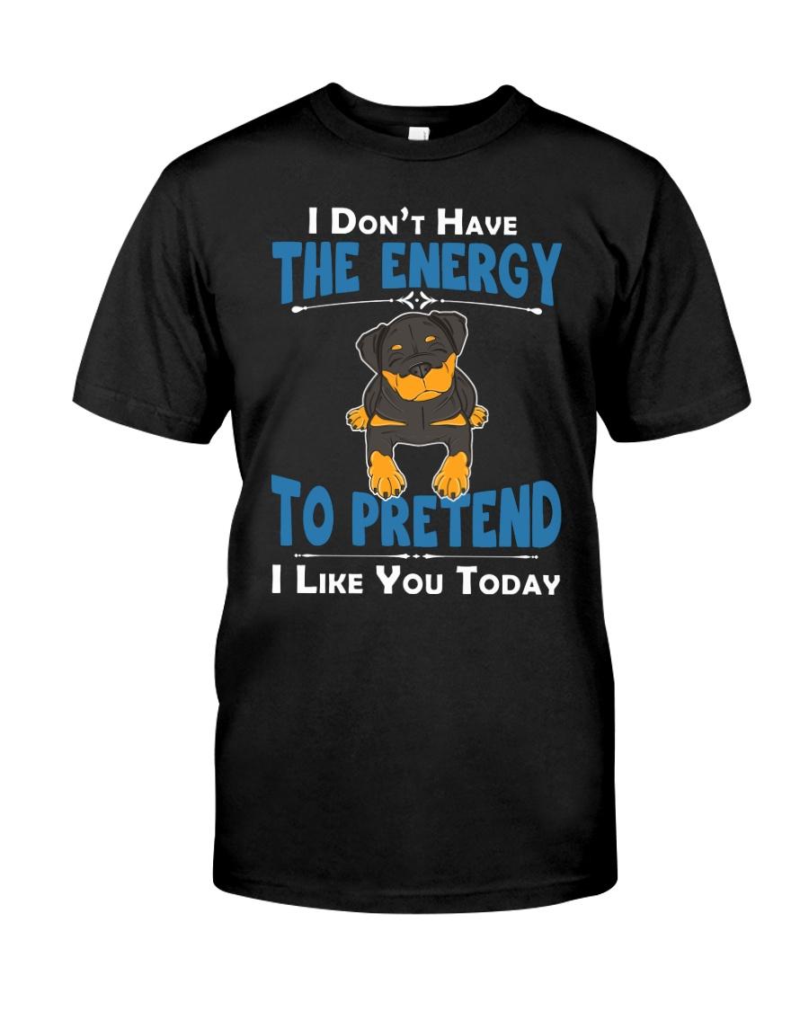 Rottweiler Energy Classic T-Shirt