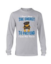 Rottweiler Energy Long Sleeve Tee thumbnail