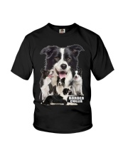 Border Collie Awesome Youth T-Shirt thumbnail