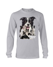 Border Collie Awesome Long Sleeve Tee thumbnail