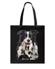 Border Collie Awesome Tote Bag thumbnail