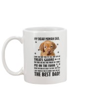 Vizsla Human Dad 0206 Mug back
