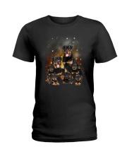 GAEA - Rottweiler Happy Family 1904 Ladies T-Shirt thumbnail