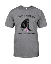 Monkey Love Woman 2104 Classic T-Shirt front