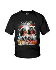 ZEUS - Tibetan Terrier Christmas - 0610 - A32 Youth T-Shirt thumbnail
