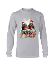 ZEUS - Tibetan Terrier Christmas - 0610 - A32 Long Sleeve Tee thumbnail