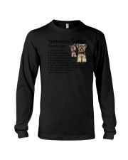 Yorkshire Terrier Property Laws 0806 Long Sleeve Tee thumbnail