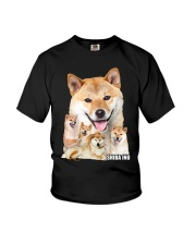 Shiba Inu Awesome Youth T-Shirt thumbnail