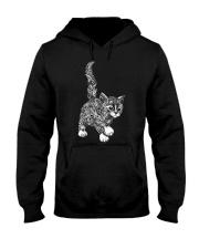 GAEA - Cat Pattern 1903 Hooded Sweatshirt thumbnail