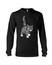 GAEA - Cat Pattern 1903 Long Sleeve Tee thumbnail