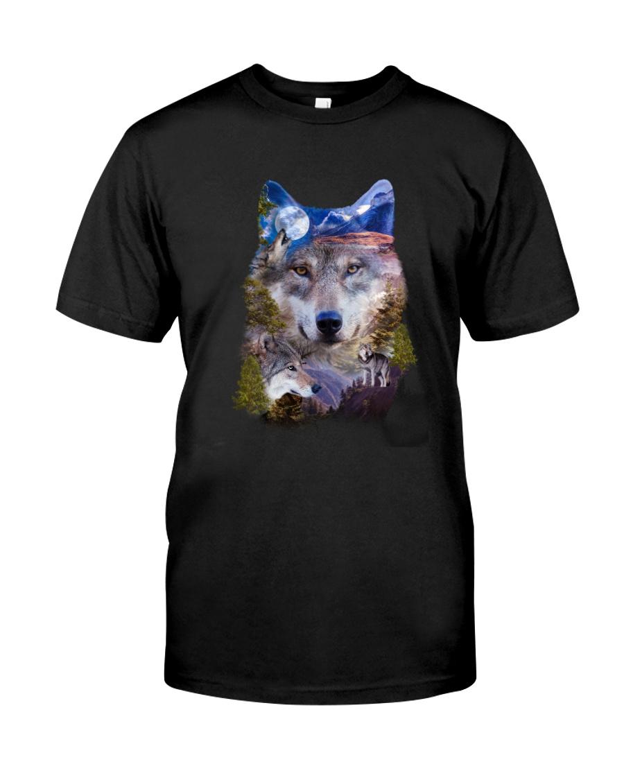 Wolf Mountain 0806 Classic T-Shirt