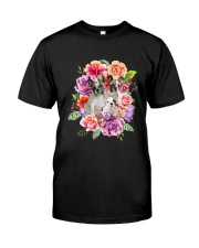 ZEUS - French Bulldog Flower - 1209 - 08 Classic T-Shirt thumbnail