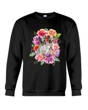 ZEUS - French Bulldog Flower - 1209 - 08 Crewneck Sweatshirt thumbnail