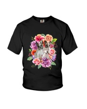 ZEUS - French Bulldog Flower - 1209 - 08 Youth T-Shirt tile