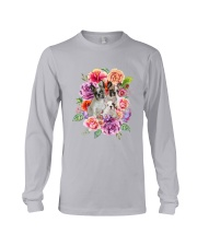 ZEUS - French Bulldog Flower - 1209 - 08 Long Sleeve Tee tile
