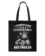 Rottweiler Angel Tote Bag thumbnail