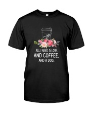 Coffee And Dog 2304 Classic T-Shirt thumbnail
