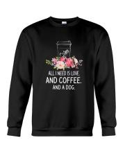 Coffee And Dog 2304 Crewneck Sweatshirt thumbnail