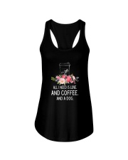Coffee And Dog 2304 Ladies Flowy Tank front
