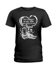 English Mastiff In My Heart Ladies T-Shirt thumbnail