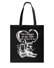 English Mastiff In My Heart Tote Bag thumbnail