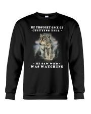 Wolf Watching 2905 Crewneck Sweatshirt thumbnail