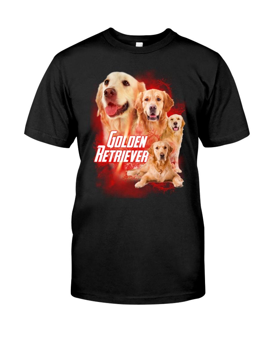 GAEA - Golden Retriever Great 0604 Classic T-Shirt