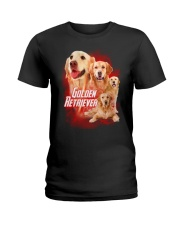 GAEA - Golden Retriever Great 0604 Ladies T-Shirt thumbnail