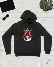 Australian Cattle Dog Xmas - 0610 Hooded Sweatshirt lifestyle-unisex-hoodie-front-8