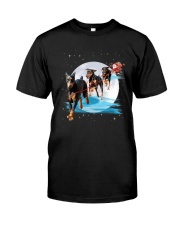 GAEA - Doberman Pinscher Santa - 1011 - 105 Classic T-Shirt thumbnail