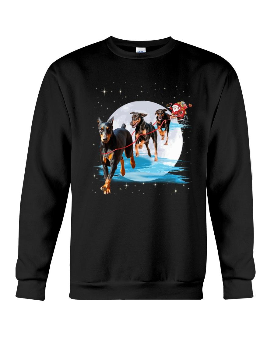 GAEA - Doberman Pinscher Santa - 1011 - 105 Crewneck Sweatshirt