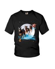 GAEA - Doberman Pinscher Santa - 1011 - 105 Youth T-Shirt thumbnail