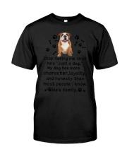 Bulldog My Family 2905 Classic T-Shirt thumbnail